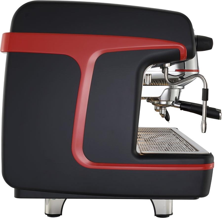 Кофемашина La Cimbali M100RE HDi DT 2 TS+TC VA BLACK Turbosteam высокие группы - 1