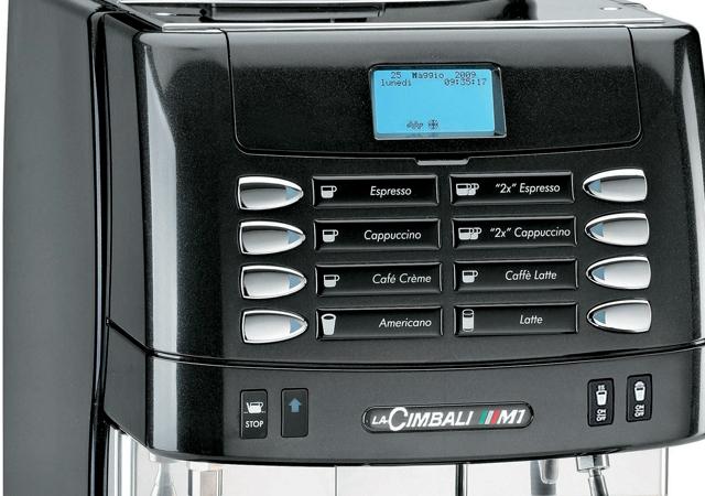 Кофемашина LA CIMBALI M1 Program Turbosteam (2 кофемолки) - 1