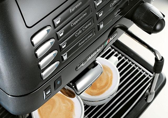 Кофемашина LA CIMBALI M1 S10Caffe (2 кофемолки) - 1