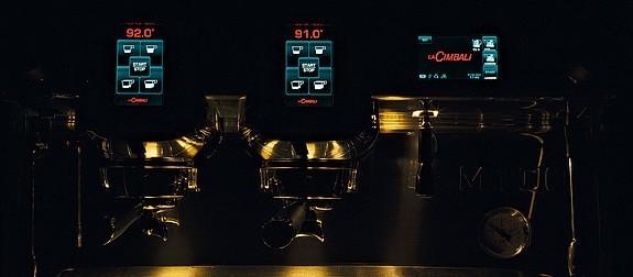 Кофемашина La Cimbali M100RE HDi DT 2 TS+TC VA BLACK Turbosteam высокие группы - 3