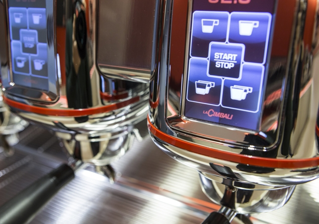 Кофемашина LA CIMBALI M100 HDDT3 BLACK высокие группы - 4