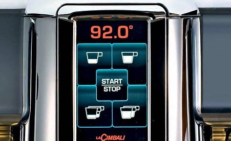 Кофемашина La Cimbali M100RE HDi DT 2 TS+TC VA BLACK Turbosteam высокие группы - 2